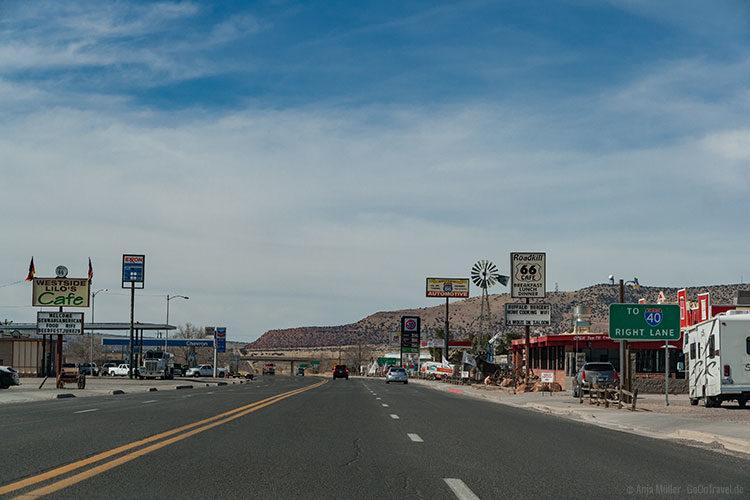 Eine Kleinstadt an der Route 66