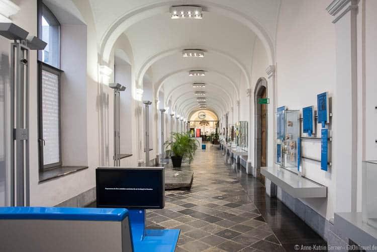 Rundgang zum Fürstbistums in Stavelot