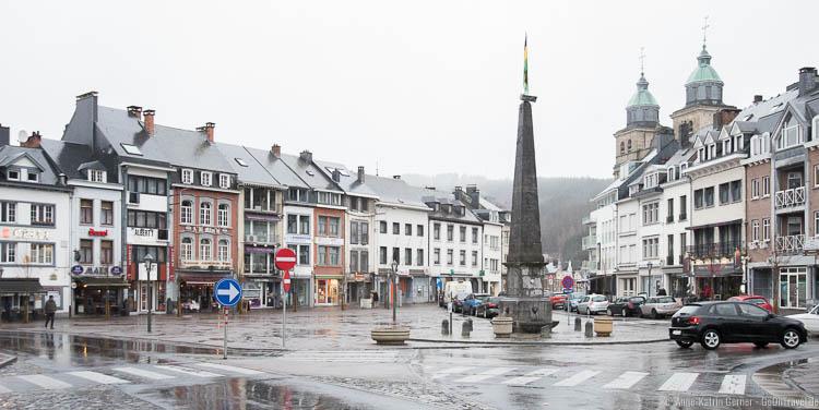 Obelisk auf dem früheren Marktplatz