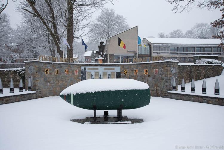 Gedenkpark in Stavelot