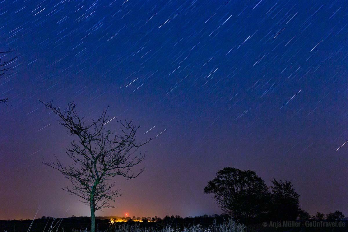 Sterne fotografieren mit einem 50 mm Objektiv