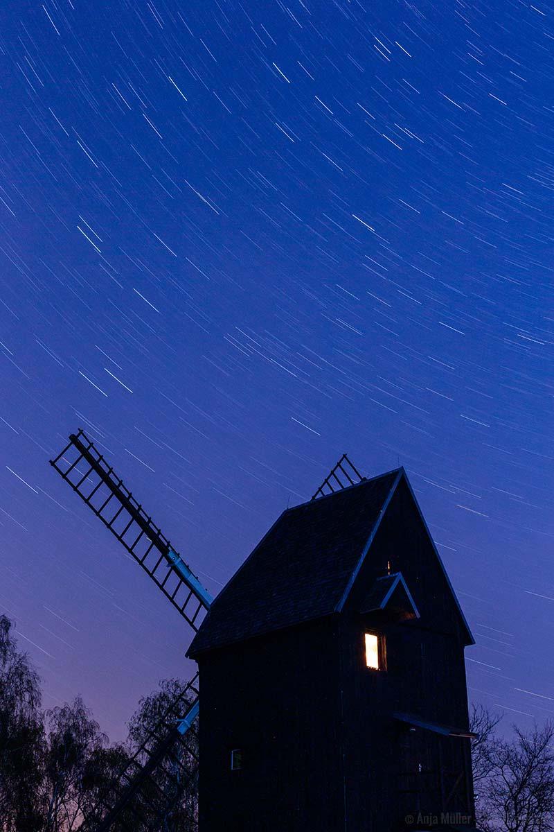 Ziehende Sterne in Brandenburg