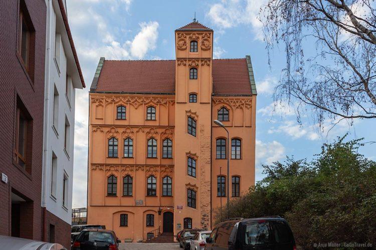 Das Loitzhaus in Stettin