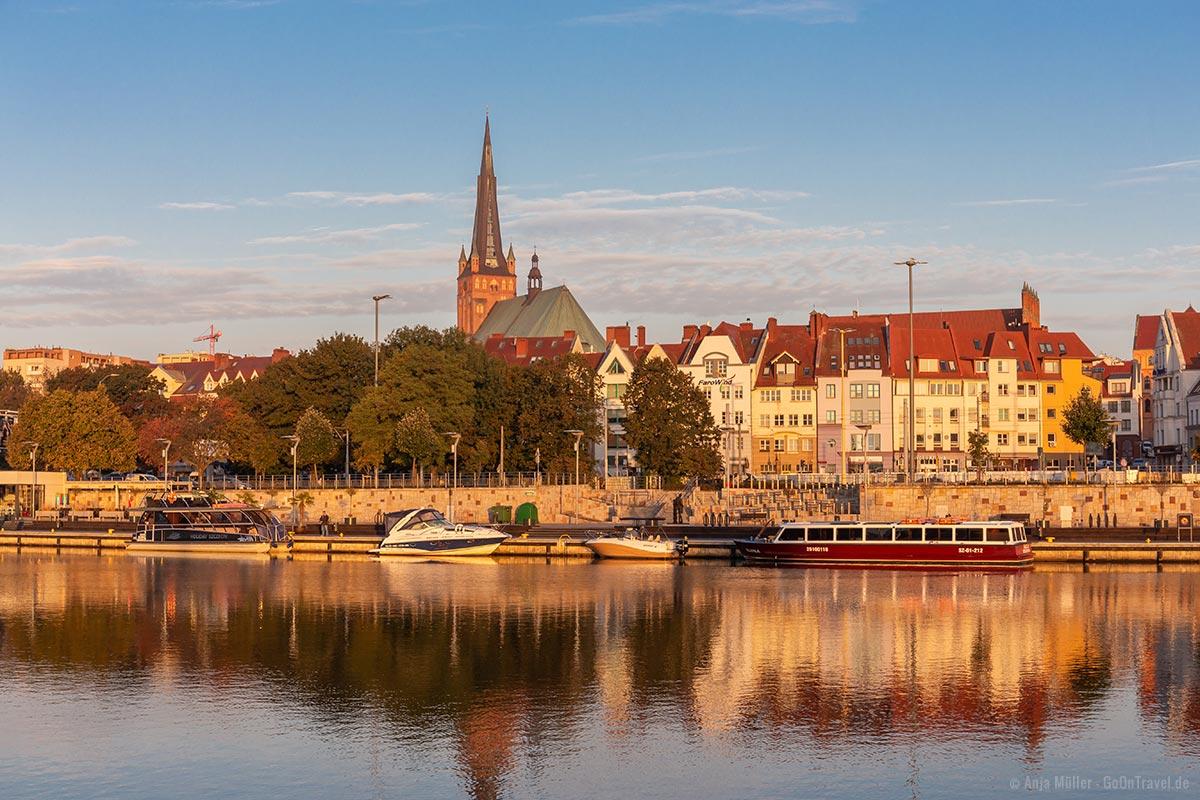 Stettin ist nur 2 Stunden mit der Bahn von Berlin entfernt.