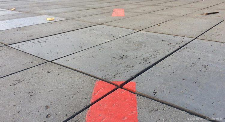 Stettin Tipp: Die rote Linie in der Innenstadt