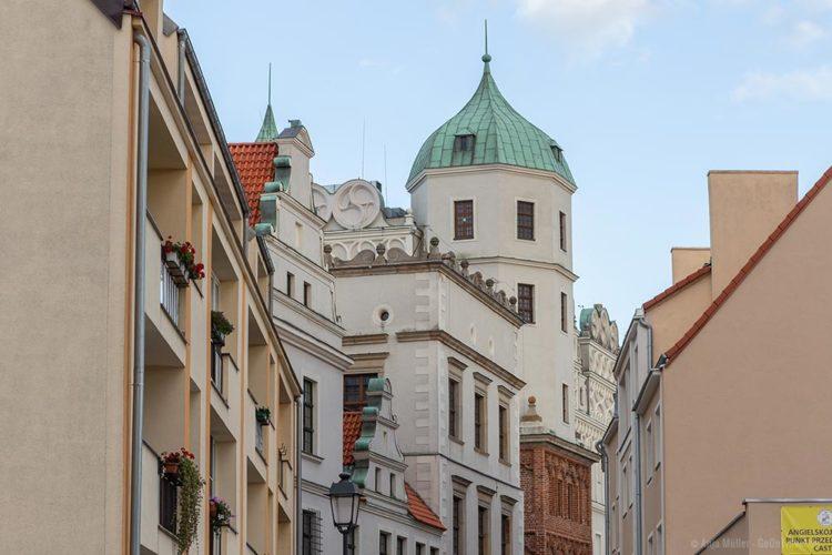 Blick auf das Stettiner Schloss