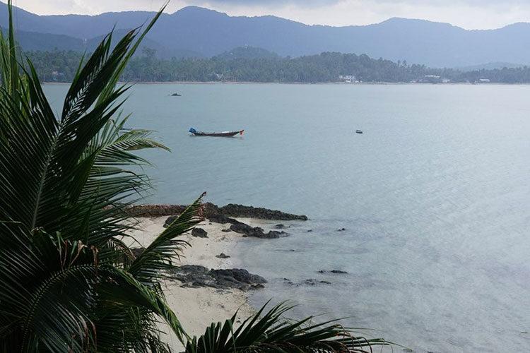 Strand auf Ko Phangan