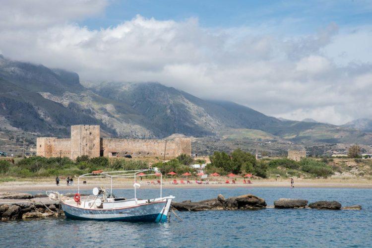 Südküste Kreta Boot