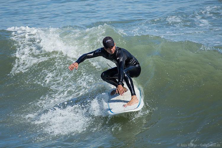 Surfer am Cocoa Beach