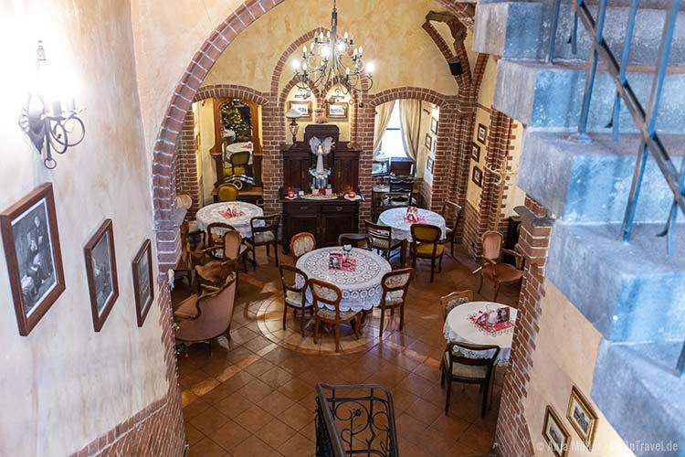 Cafe Wieza im Martin Luther Turm