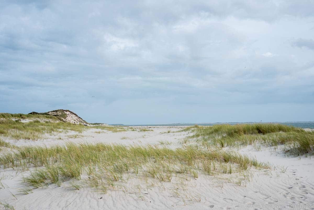 Hörnum Odde in der Nähe der Strandsauna
