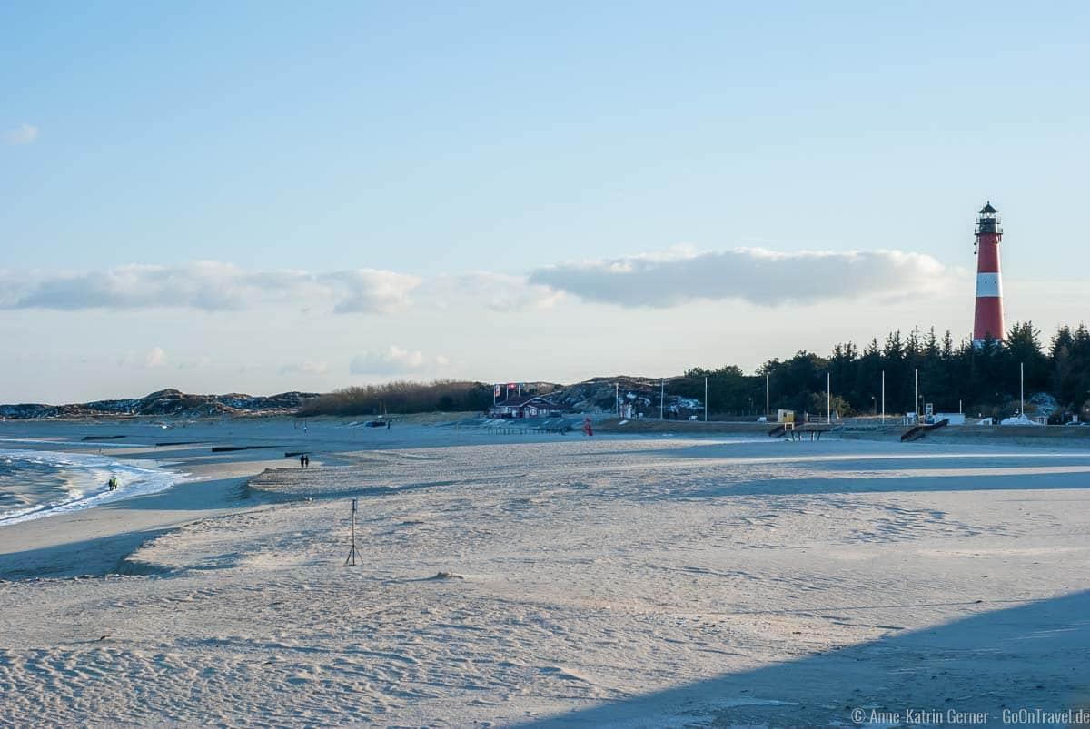 Strand an der Hörnumer Promenade