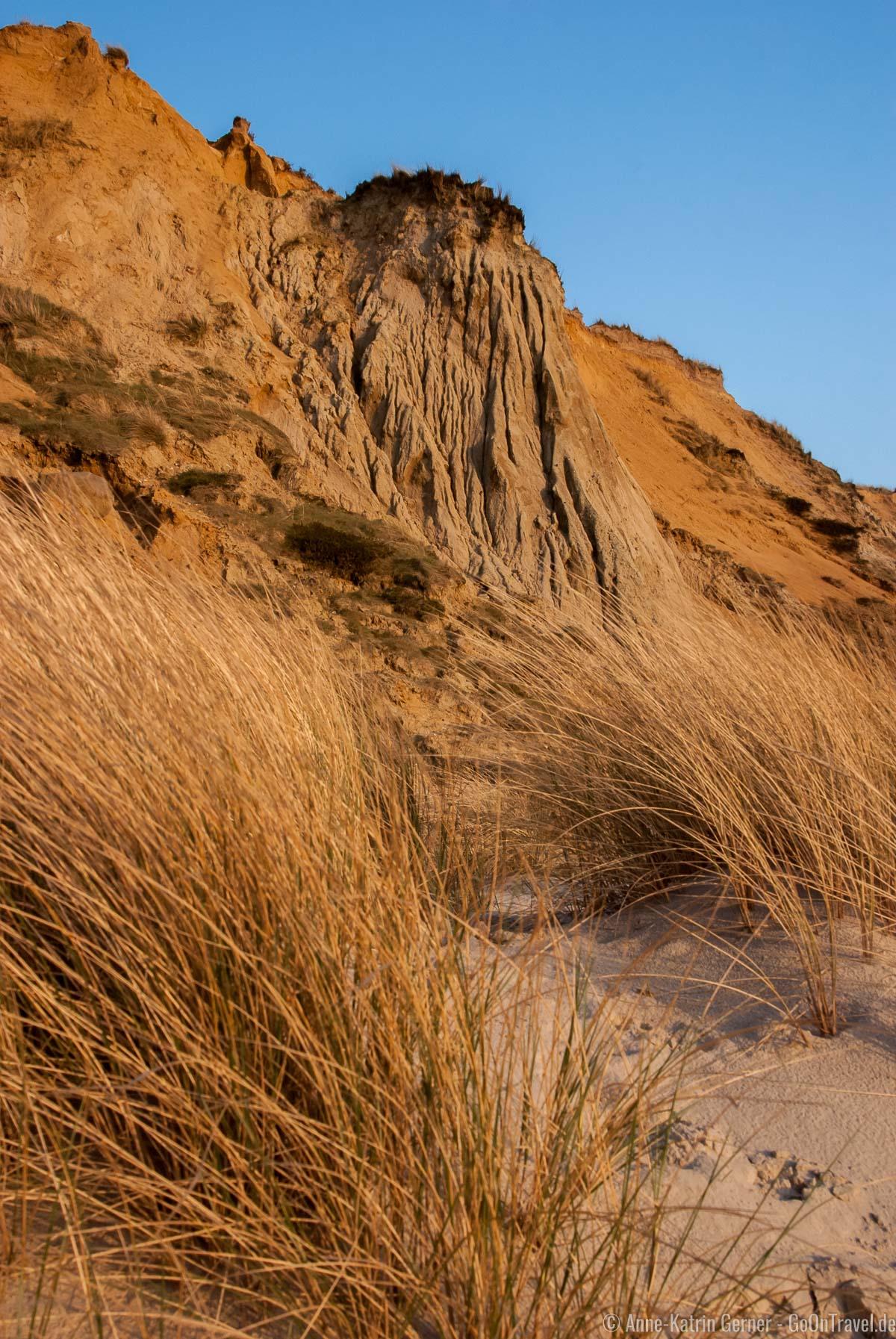 Abbrüche am Roten Kliff