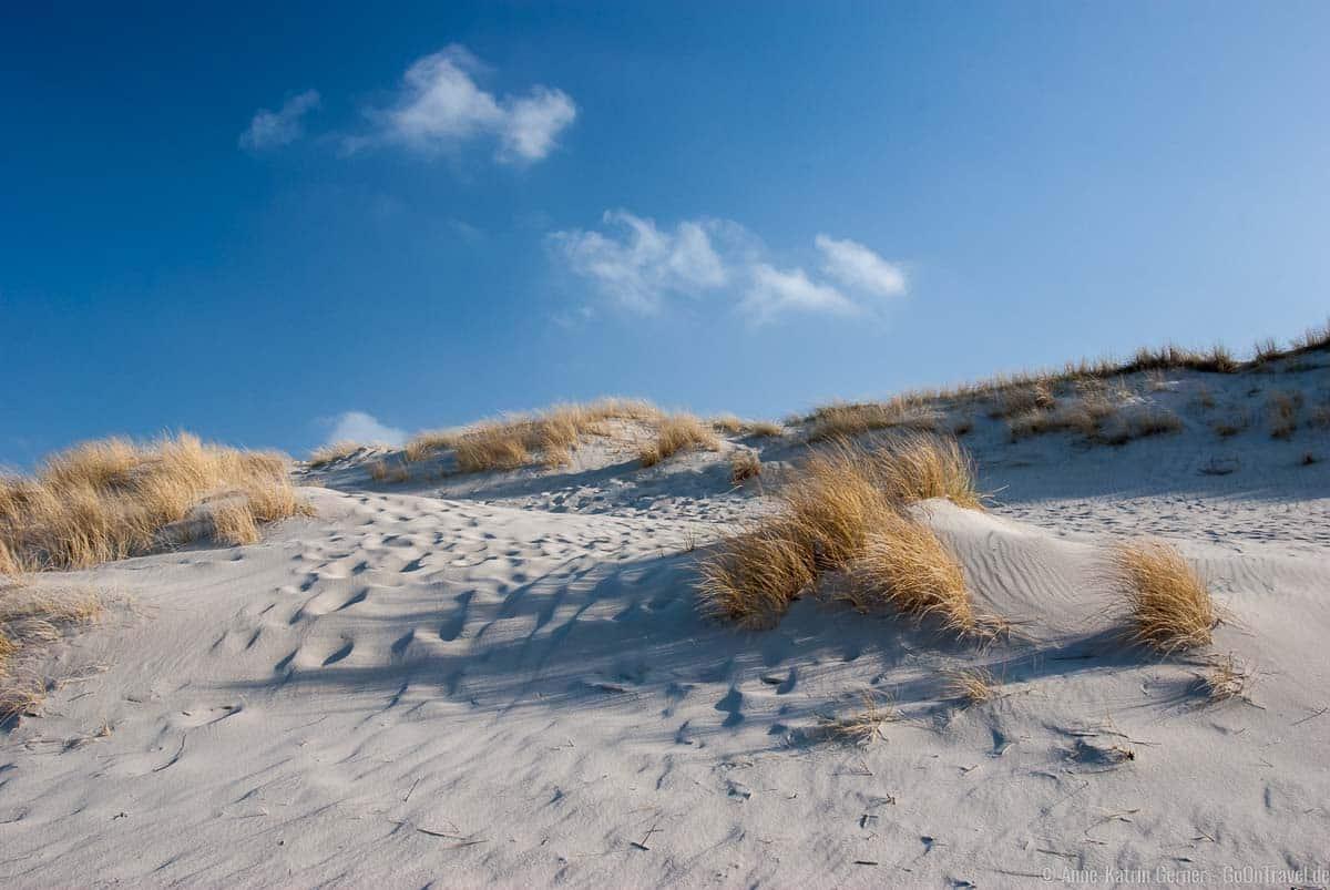 Dünenlandschaft am nördlichsten Strand von Deutschland