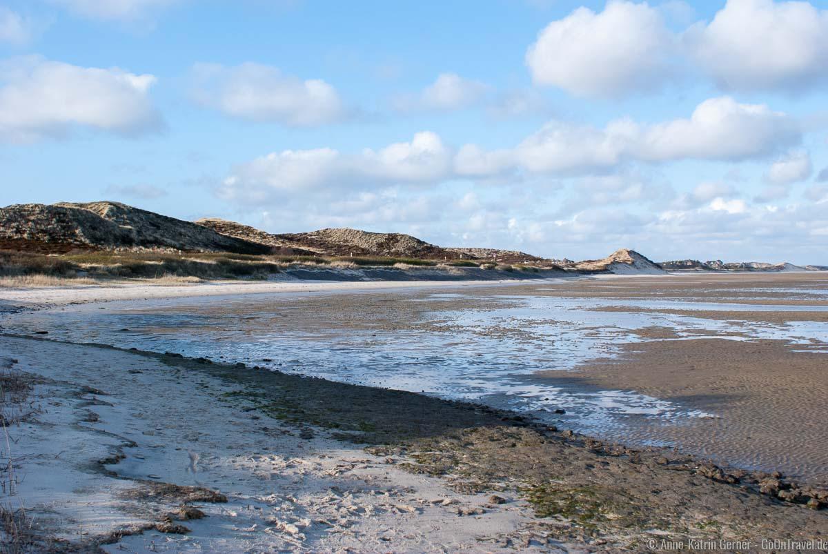 Strand bei Ebbe in der Blidselbucht