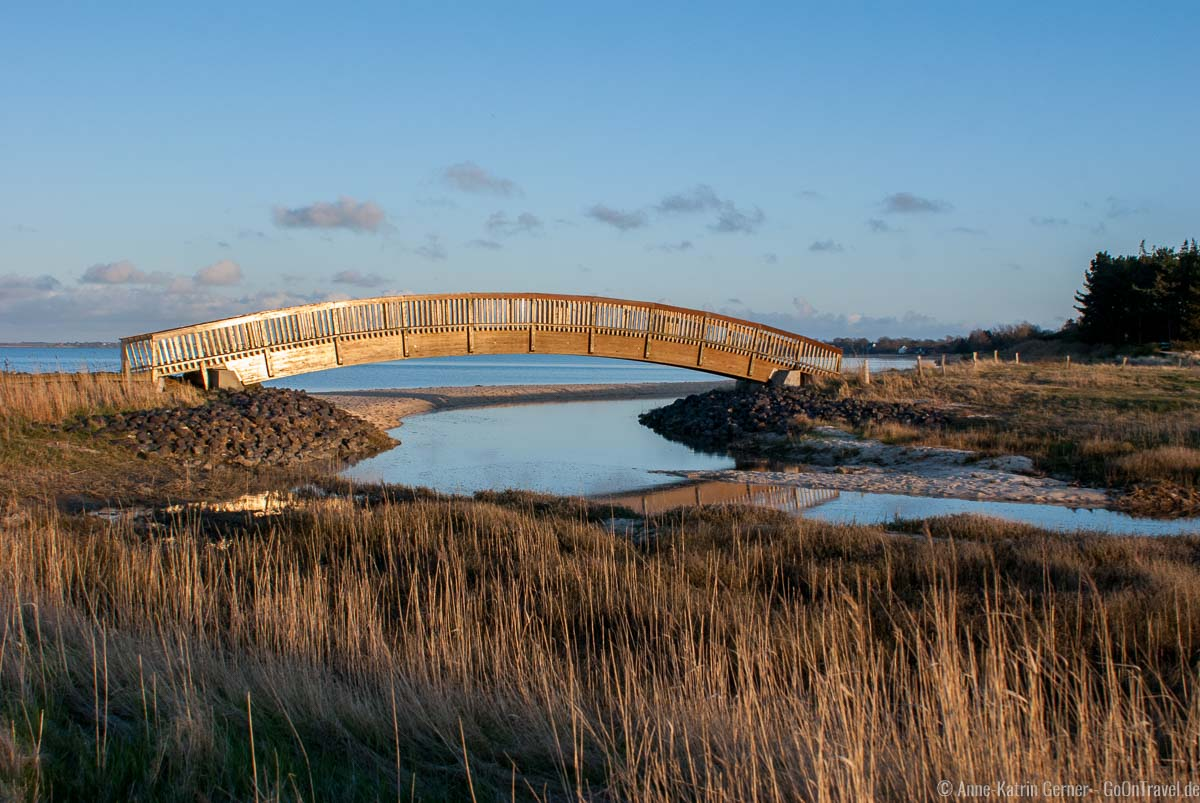 Lügenbrücke am Munkmarscher Watt