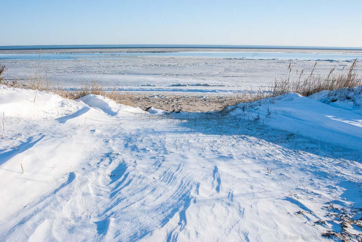 Ebbe im Eismeer