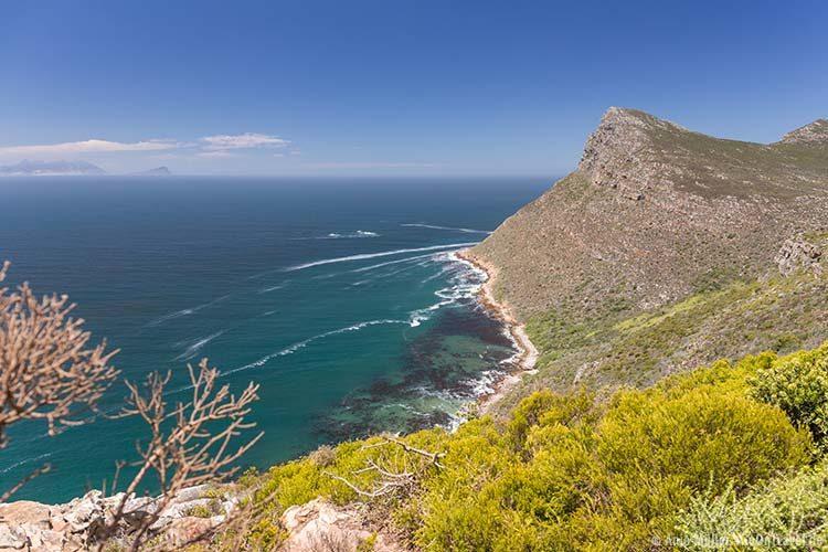Blick auf die Smitswinkel Bay im Tafelberg National Park