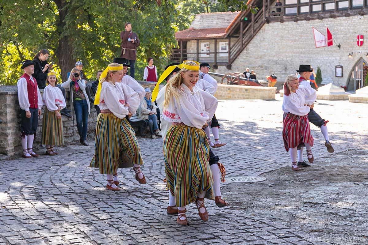 Folklore in Tallinn