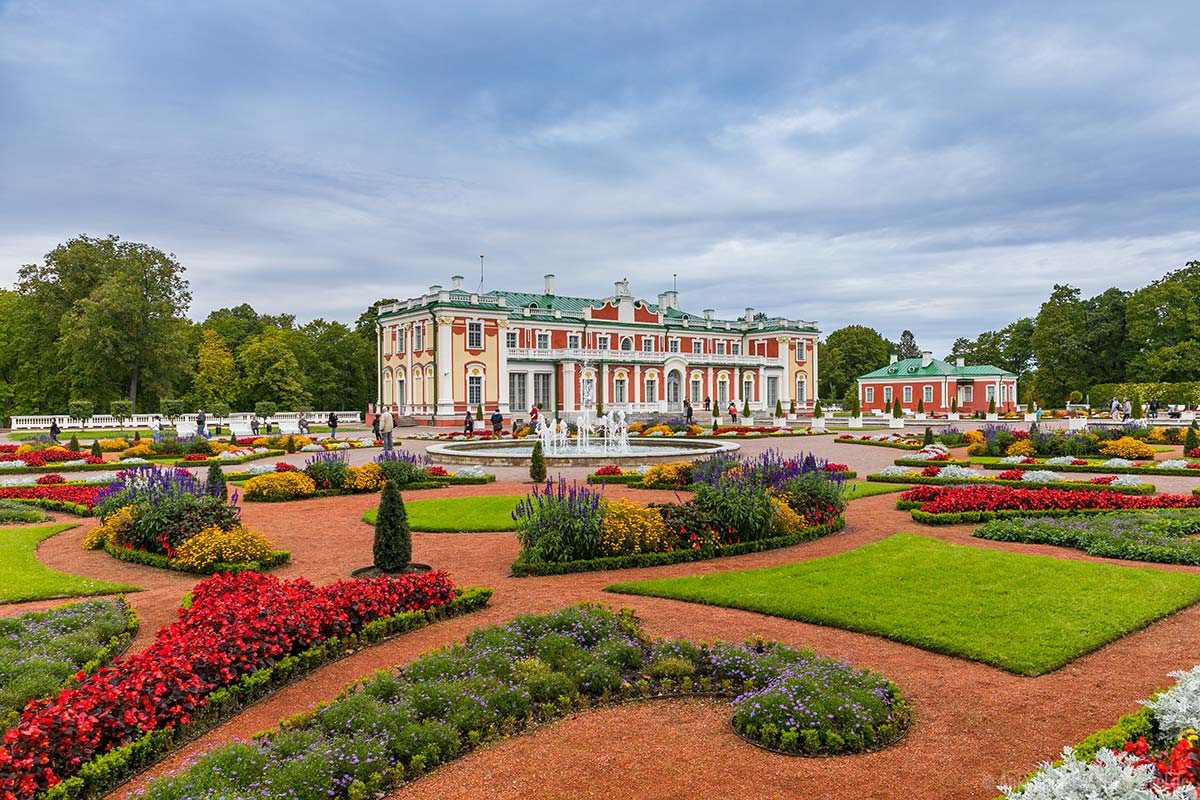 Tallinn Sehenswürdigkeiten: Schloss Katherinenthal im Kadriorg-Park