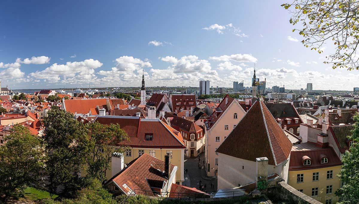 Kohtuotsa Aussichtsplattform: Blick auf die Altstadt