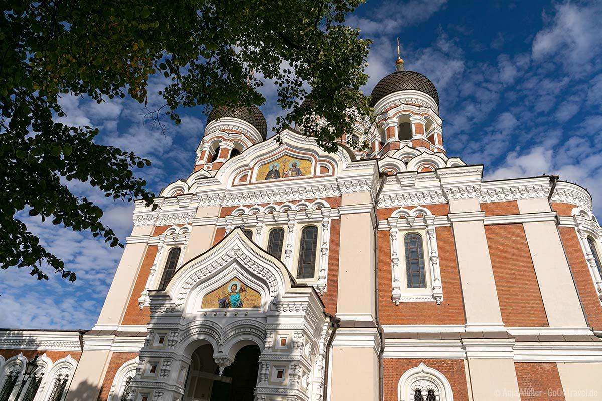 Tallin Sehenswürdigkeiten: Alexander-Newski-Kathedrale