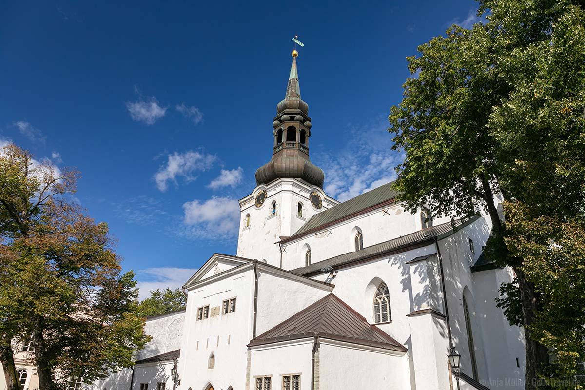 Die Domkirche zu St. Marien auf dem Toompea