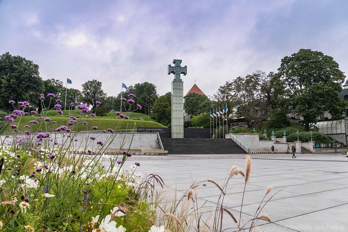 Bedeutendste der Tallinn Sehenswürdigkeiten: Der Freiheitsplatz
