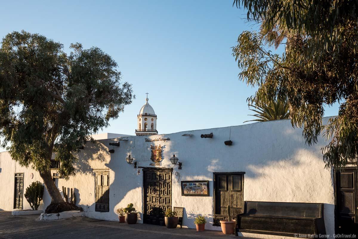 Die Altstadt von Teguise steht unter Denkmalschutz