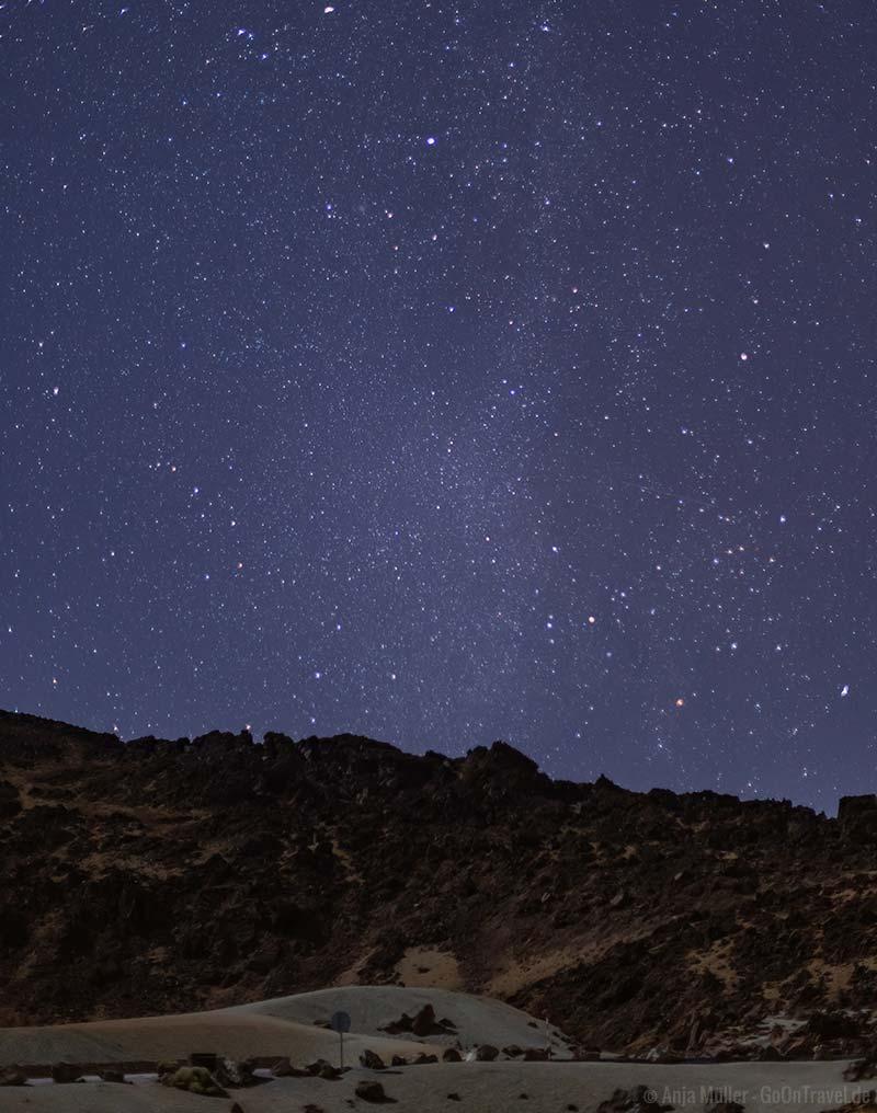 Die Milchstrasse im Teide Nationalpark