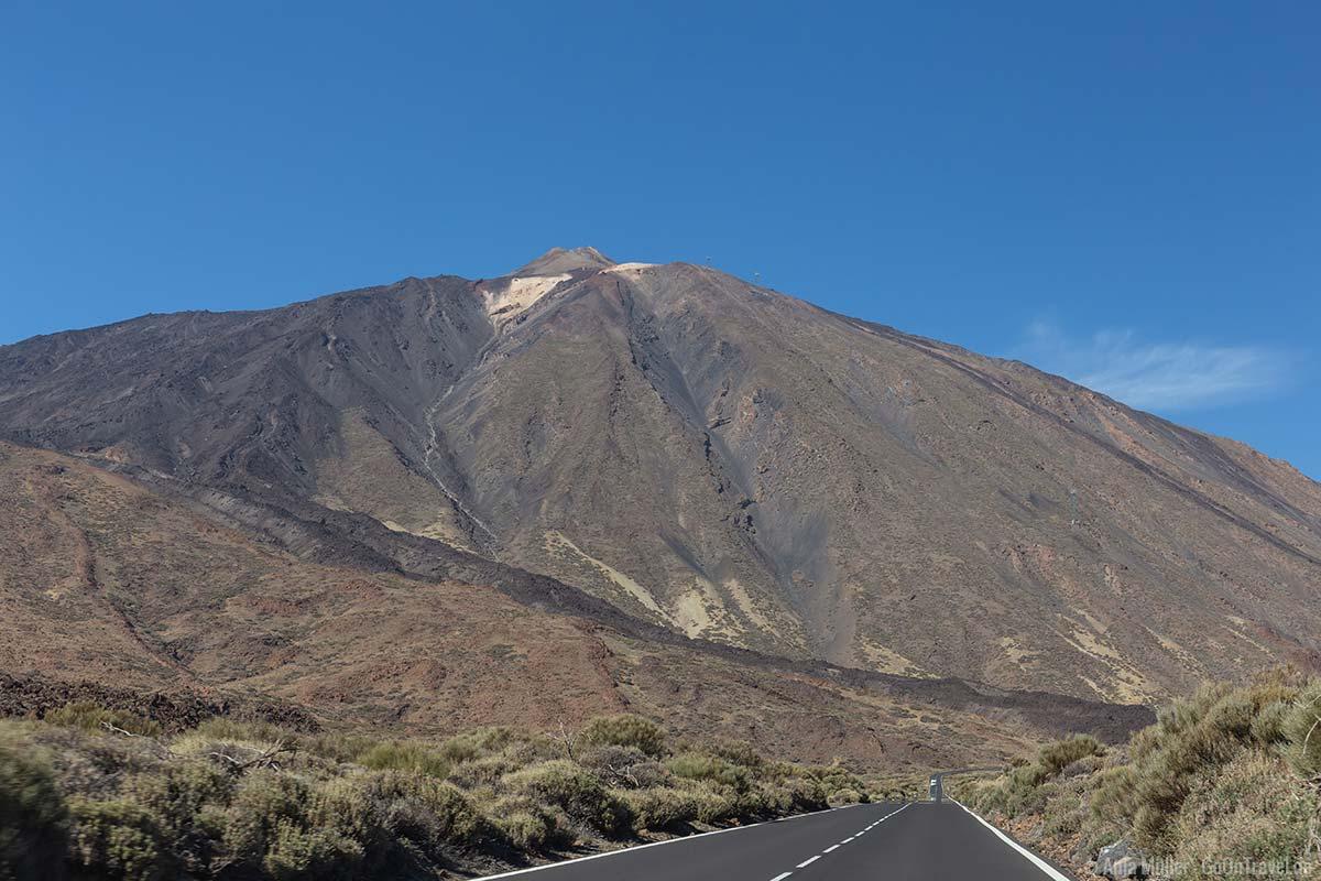 Der Vulkan Pico del Teide