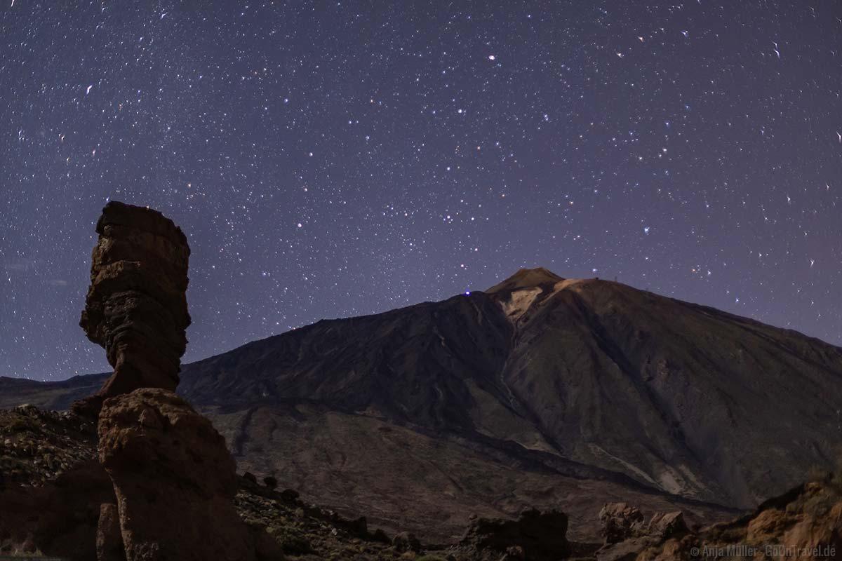 Sternenhimmel im Teide Nationalpark