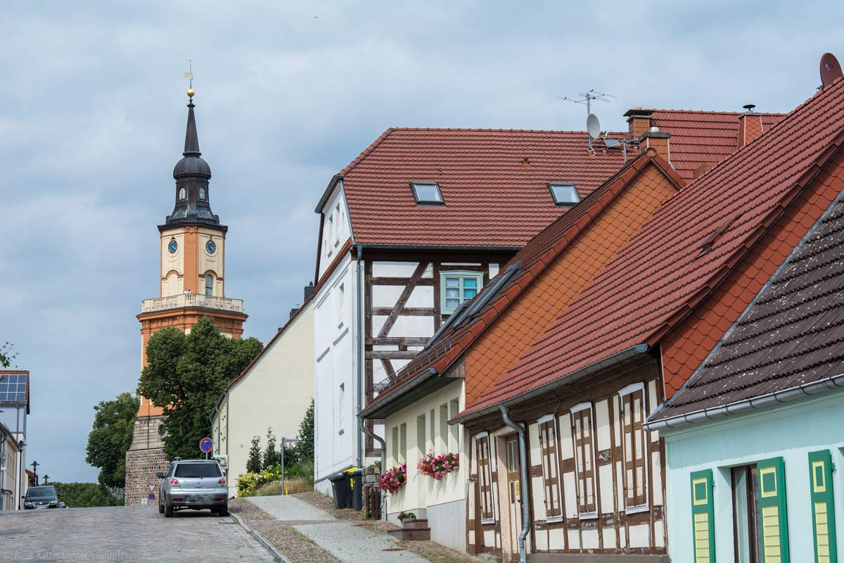 Maria-Magdalenen-Kirche und historischer Ortskern Templin