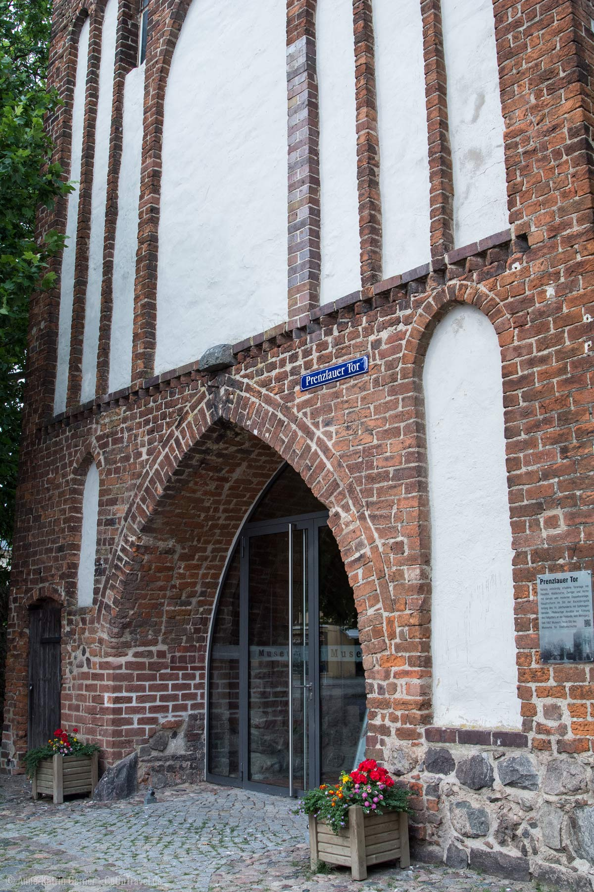Im Prenzlauer Tor befindet sich das Templiner Museum