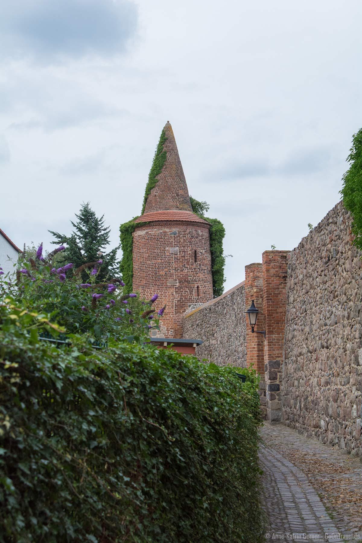 Stadtmauer und Rundturm von Templin