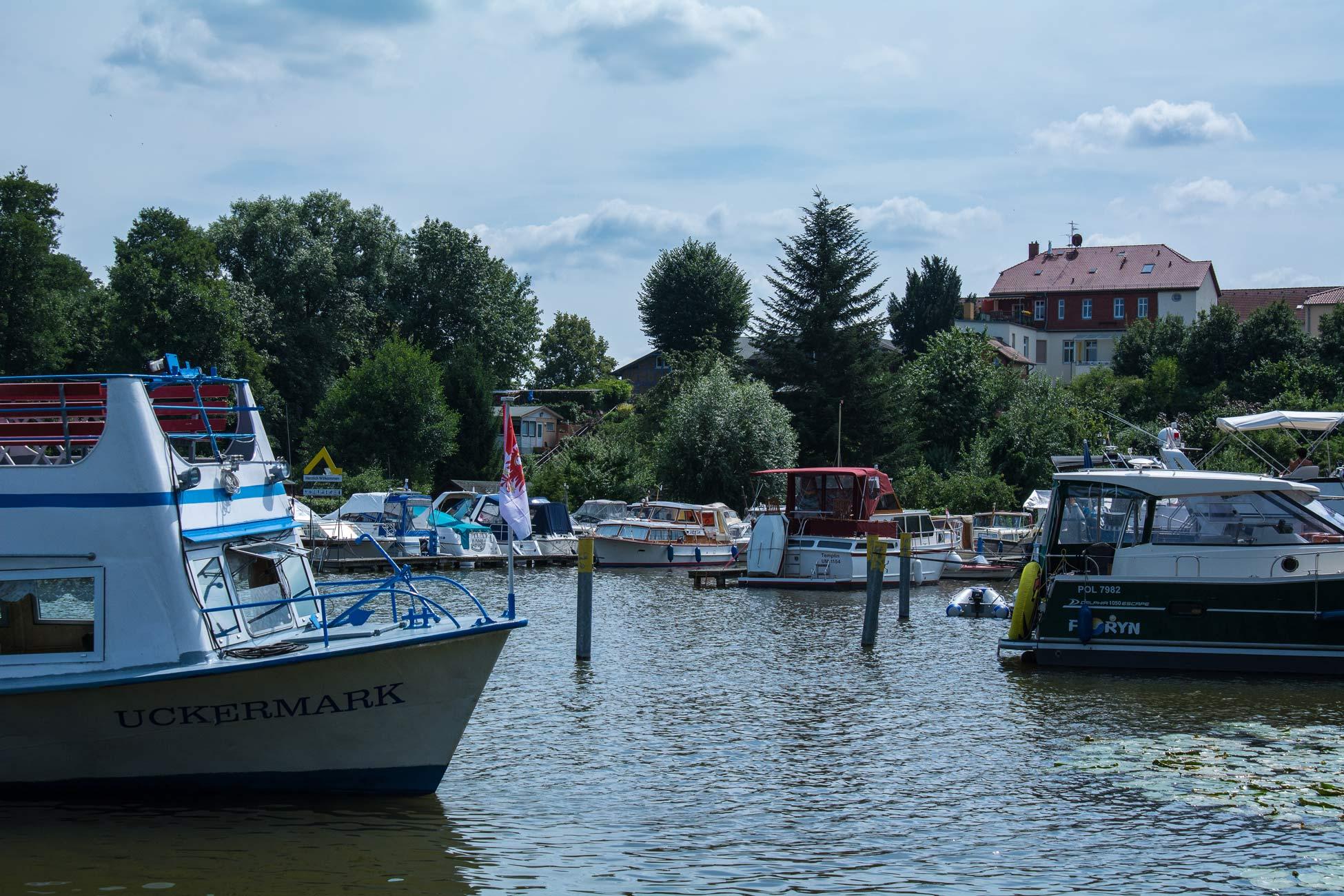 Templin Uckermark Hafen Boote