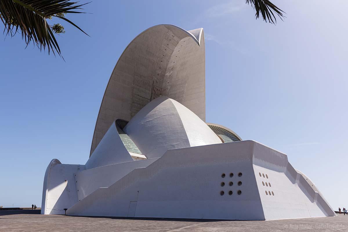 Das Auditorio de Tenerife in der Hauptstadt von Teneriffa