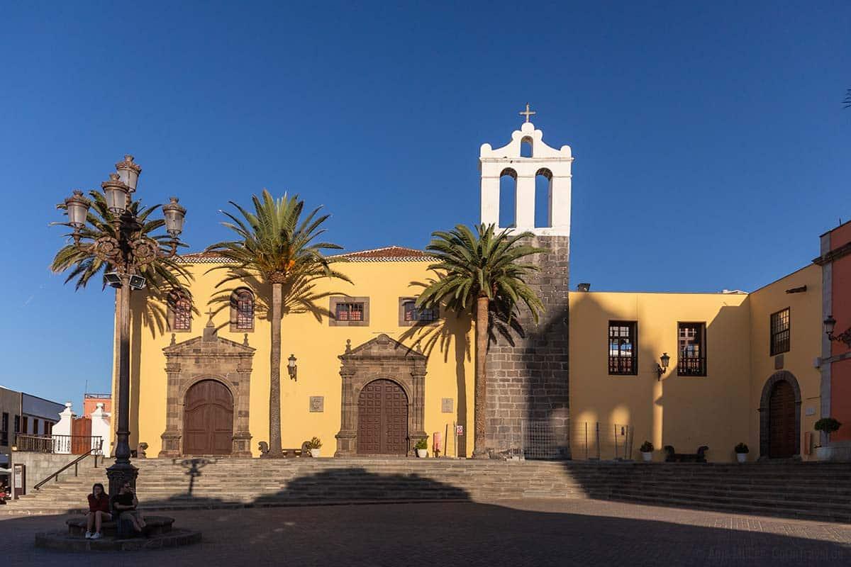 Das ehemailge Nonnenkloster in Garachico