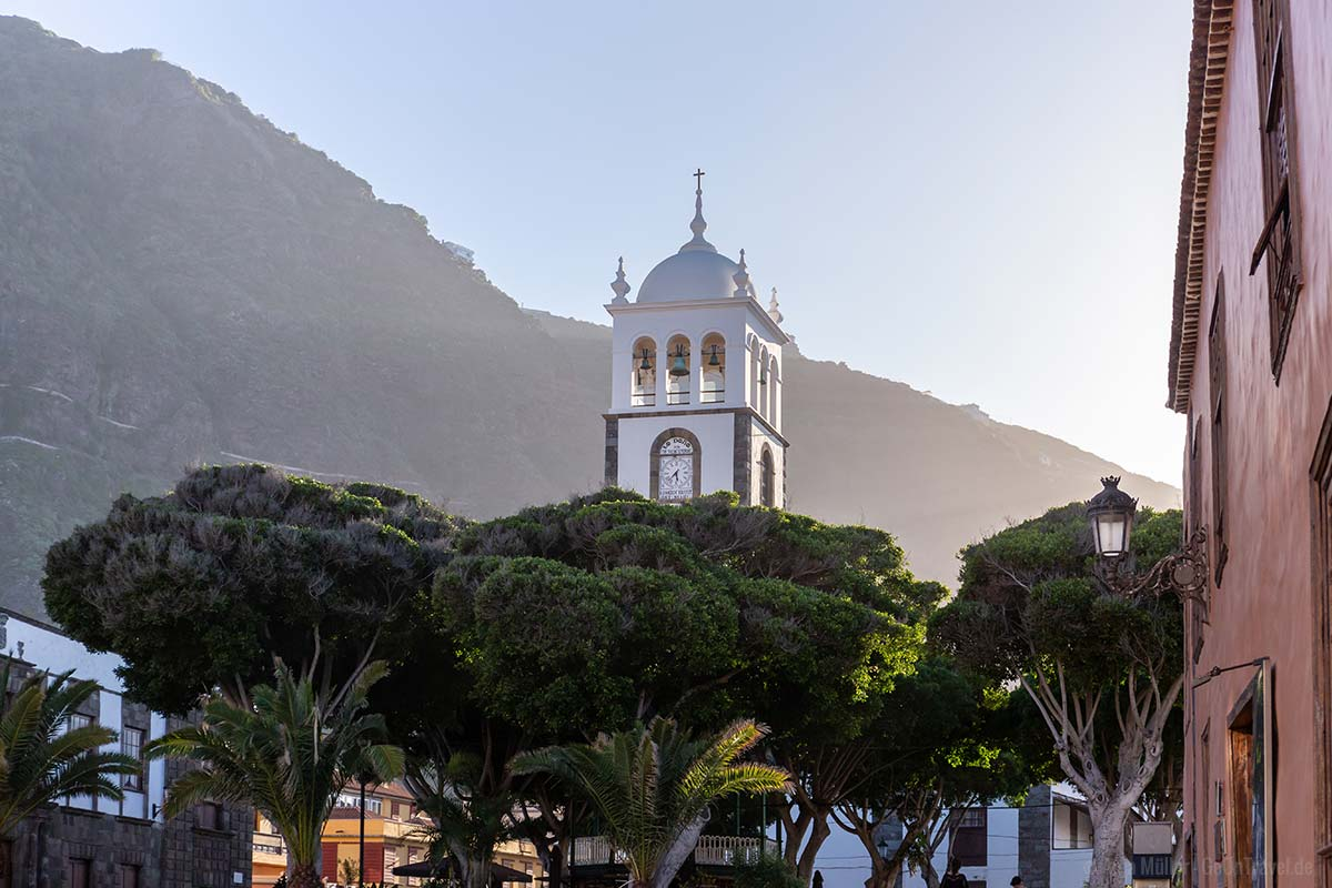 Die Kirche Iglesia de Santa Ana