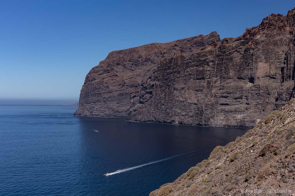 Am Aussichtspunkt Mirador Puerto de los Gigantes