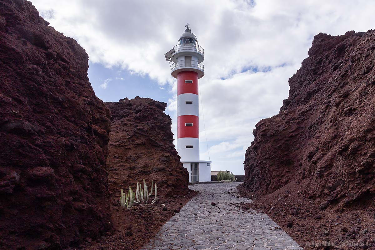 Punta de Teno - Der Leuchtturm von Teneriffa