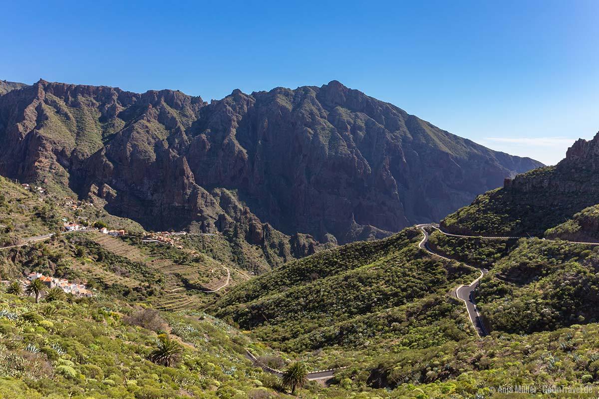 Das kleine Dorf Masca im Teno-Gebirge