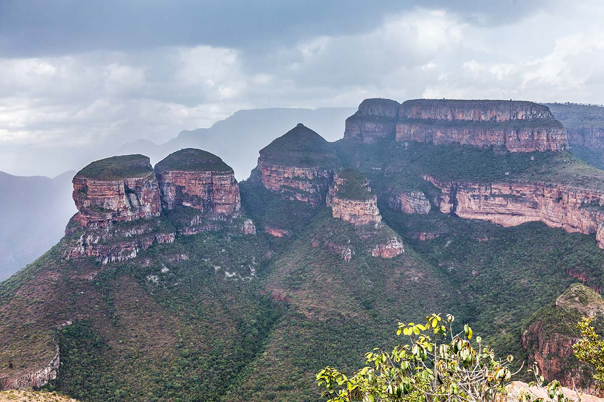 Die Three Rondavels am Blyde River Canyon
