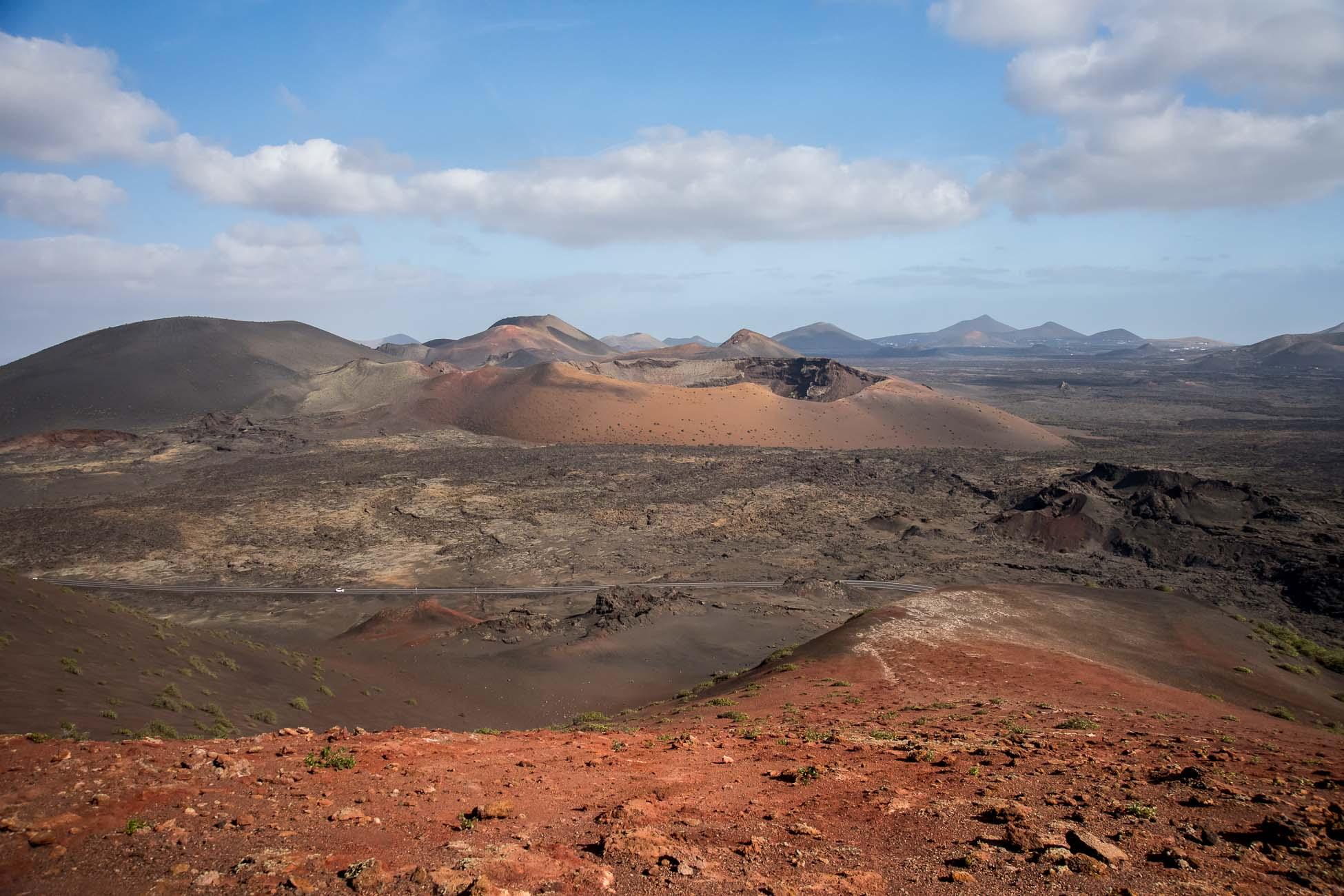 Timanfaya Nationalpark Lanzarote