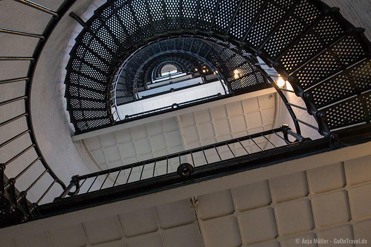 Das Treppenhaus im St. Augustine Lighthouse