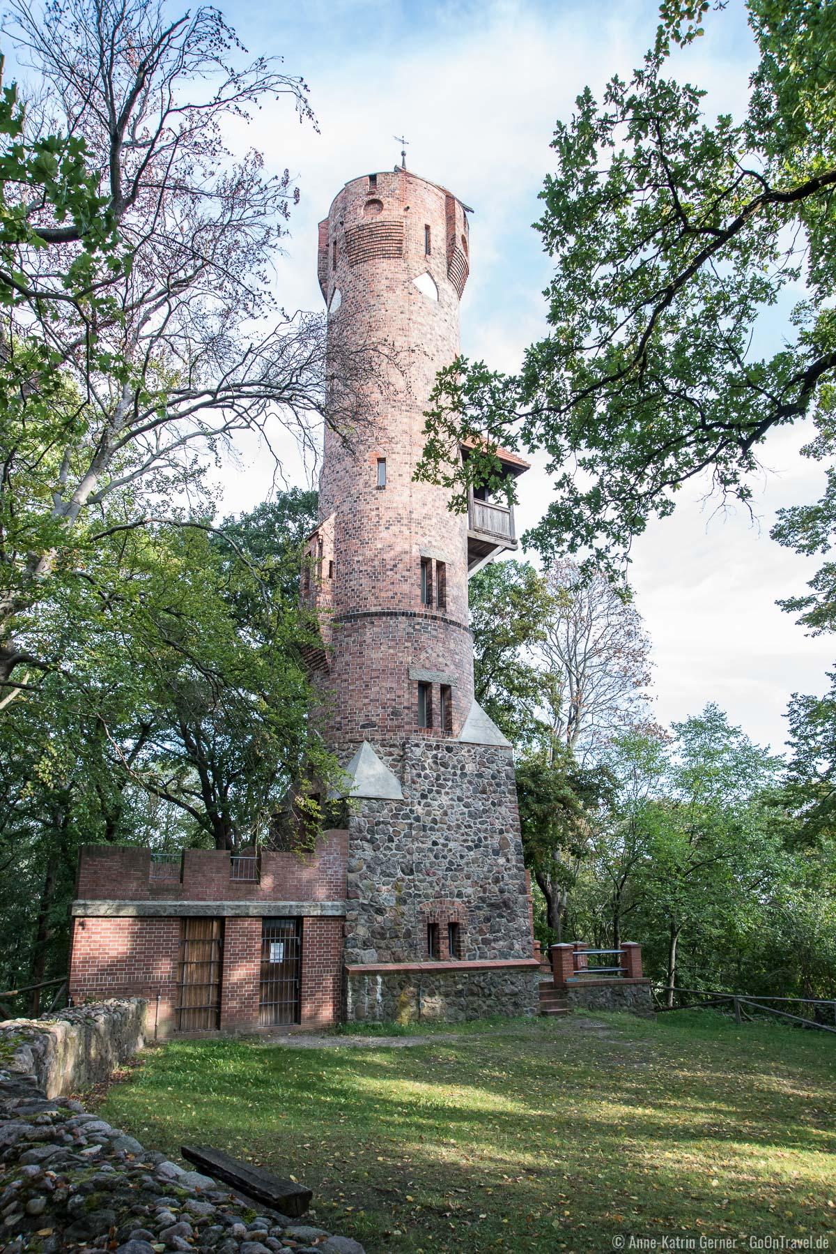 Der Bismarckturm von Bad Freienwalde ist einer der ältesten und schönsten Bismarcktürme von ganz Deutschland.