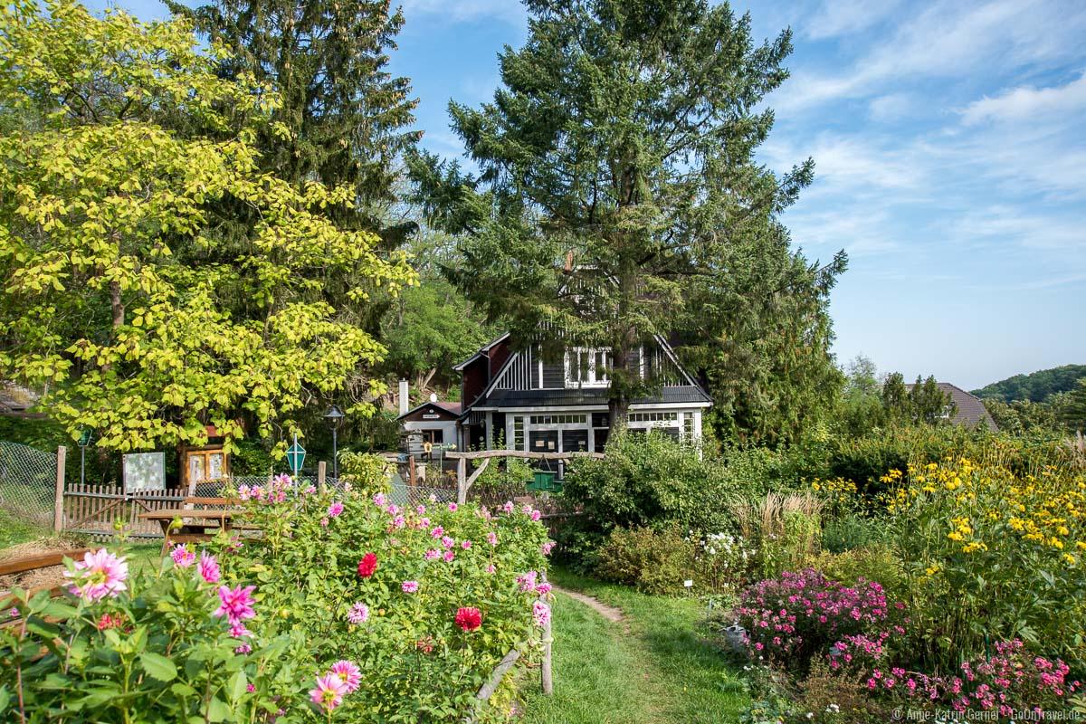 Haus der Naturpflege mit Schaugarten