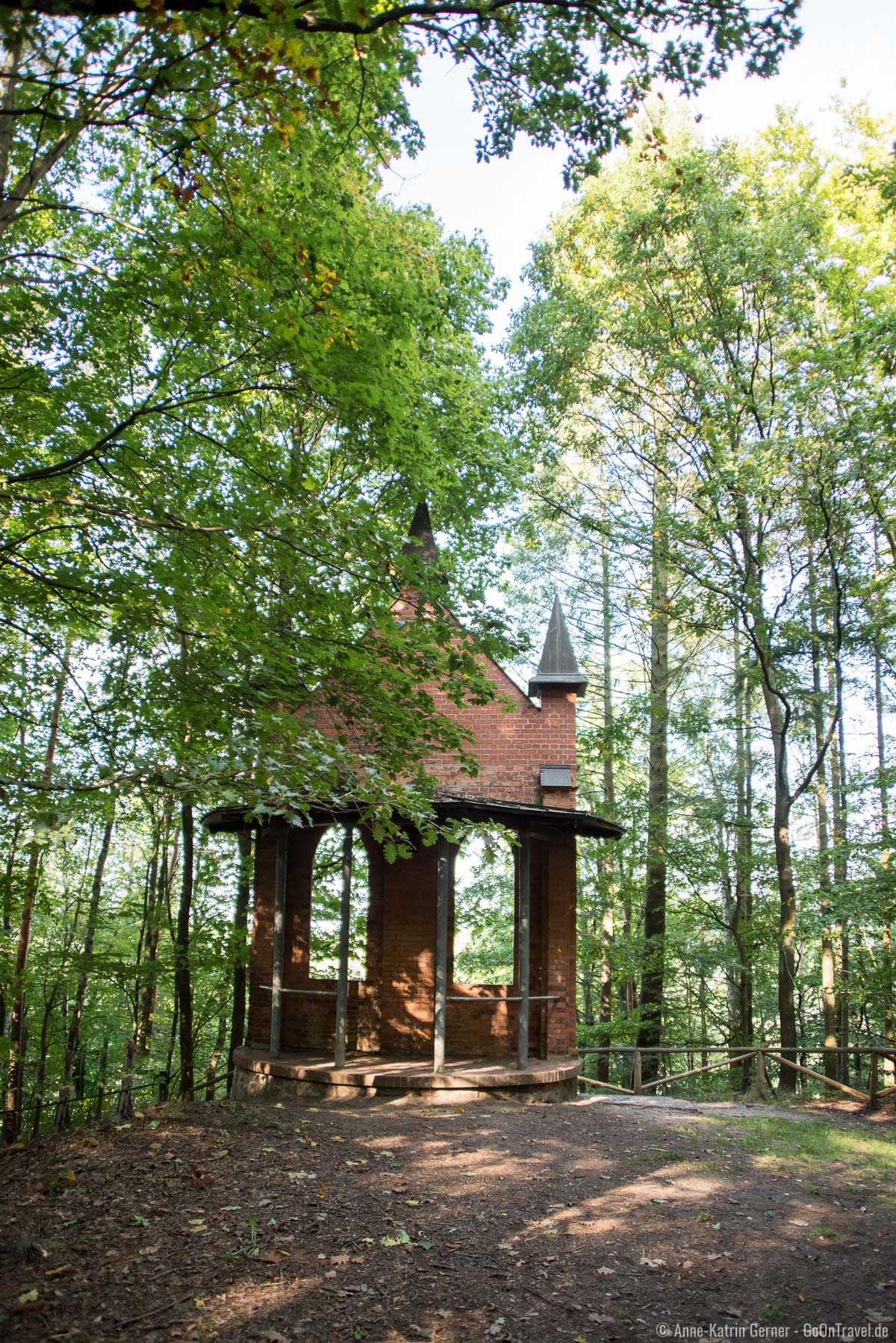 1993 restaurierte Brunnenkapelle
