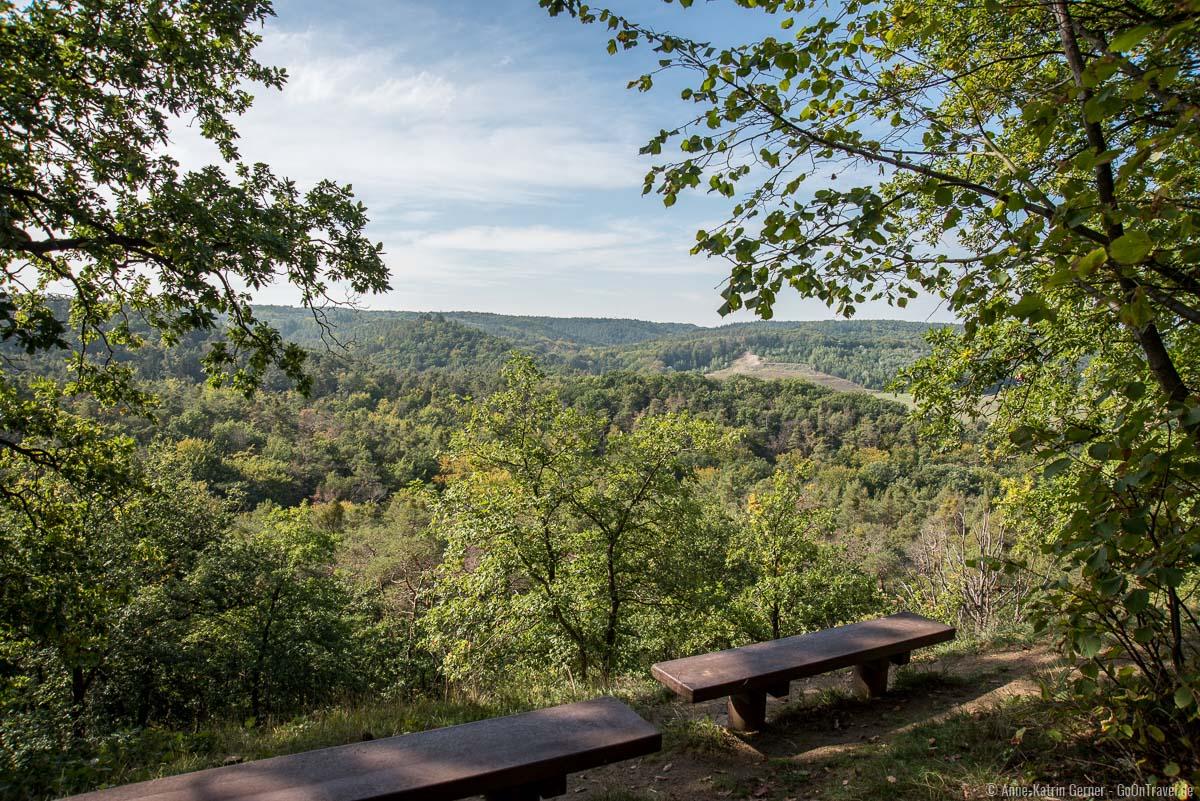 Aussicht am Thüringer Blick
