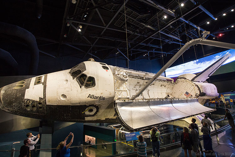 Das Space Shuttle Atlantis